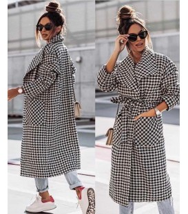 Cappotto Plaid