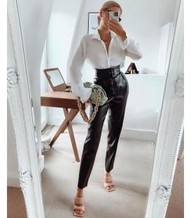 Pantalone Ecopelle Fold