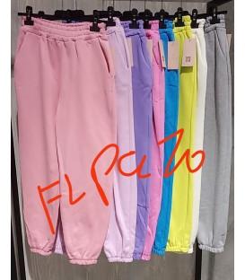 Pantalone Felpato colors