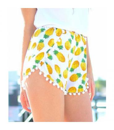Short Ananas Bianchi