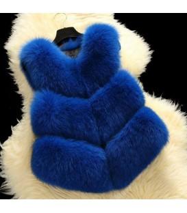 Gilet blu FIT